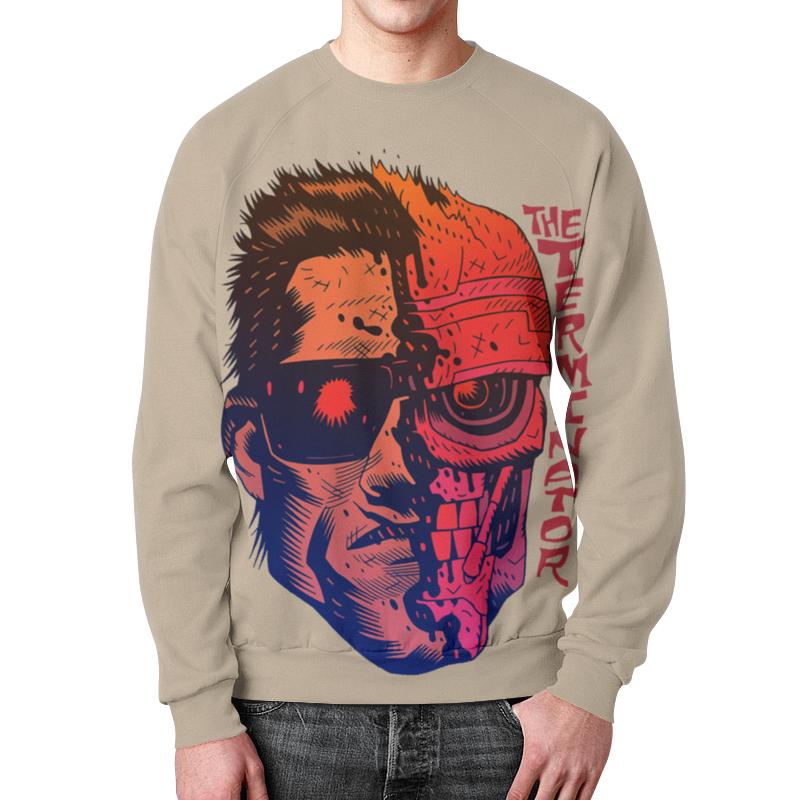 Фото - Свитшот мужской с полной запечаткой Printio Terminator свитшот унисекс с полной запечаткой printio алфавит