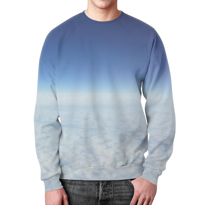 Свитшот мужской с полной запечаткой Printio Небесная синь мэйшань цин синь улун среднего огня