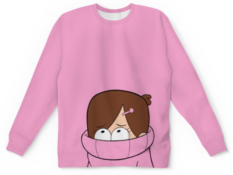 футболка с полной запечаткой для девочек printio мейбл Свитшот унисекс с полной запечаткой Printio Гравити фолз (мейбл)