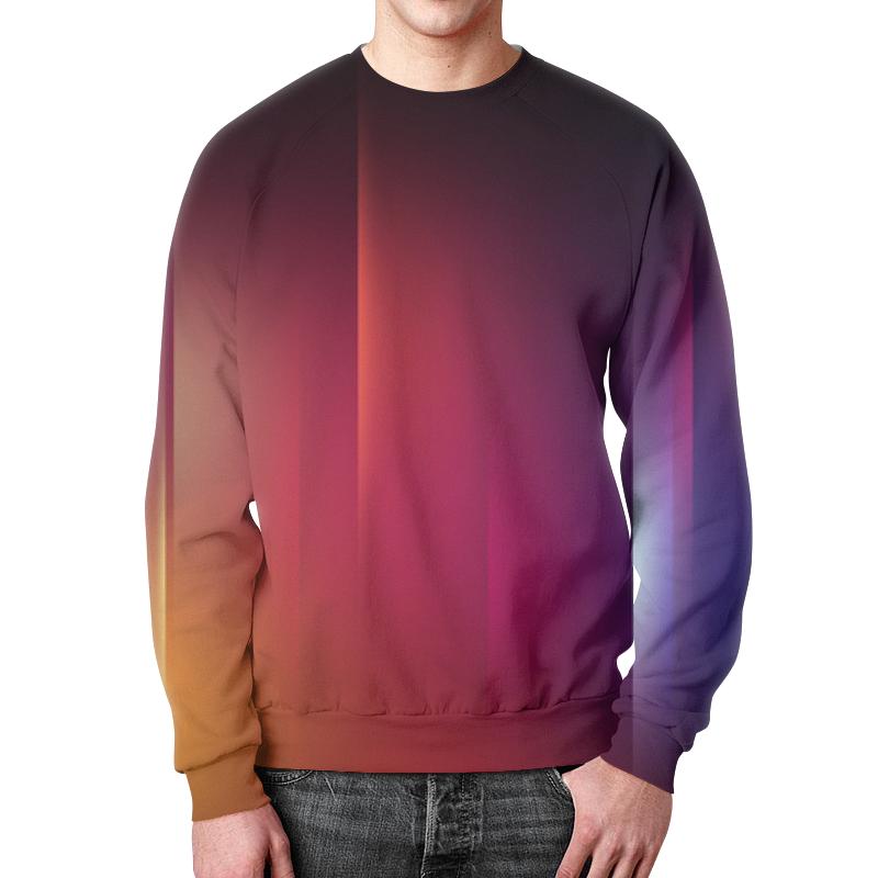 Свитшот унисекс с полной запечаткой Printio Переход цвета борцовка с полной запечаткой printio переход цвета