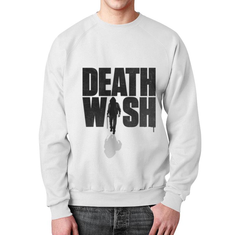 Свитшот мужской с полной запечаткой Printio Death wish свитшот print bar make a wish