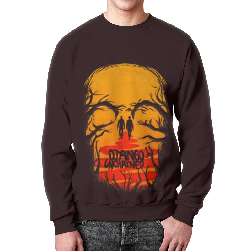 Свитшот мужской с полной запечаткой Printio Django unchained футболка с полной запечаткой для мальчиков printio джанго django