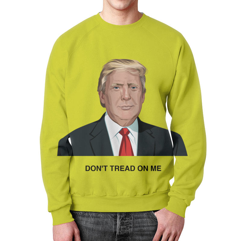 цена Printio Trump. dont tread on me. дональд трамп онлайн в 2017 году