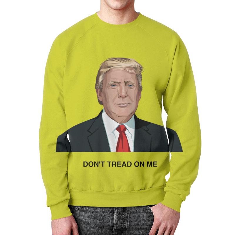 Свитшот унисекс с полной запечаткой Printio Trump. dont tread on me. дональд трамп