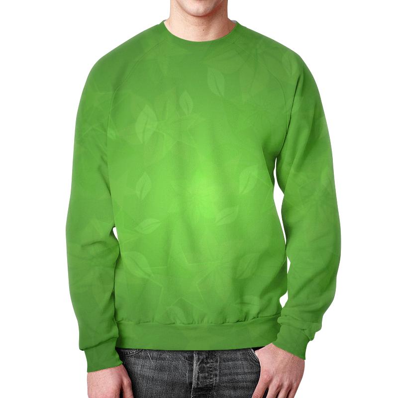 Фото - Свитшот мужской с полной запечаткой Printio Зелень свитшот мужской с полной запечаткой printio зелень