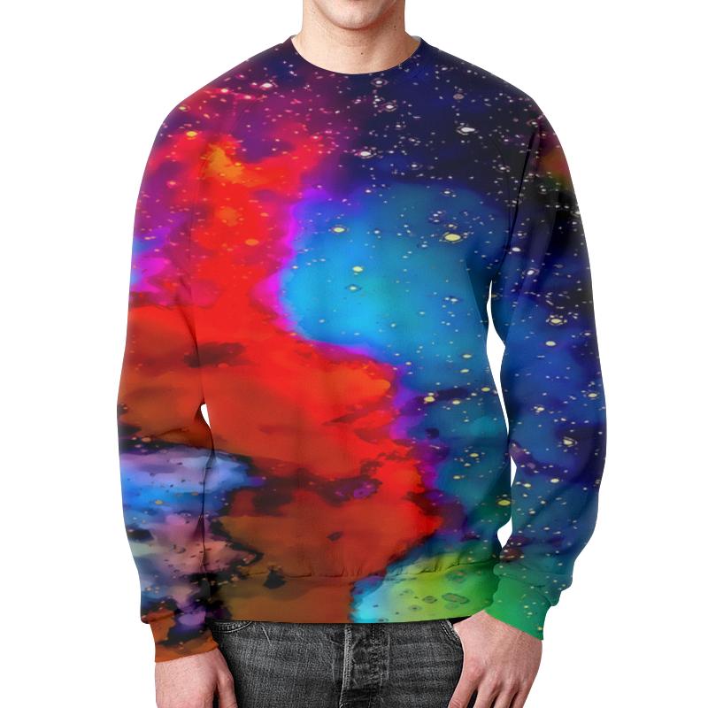 Свитшот унисекс с полной запечаткой Printio Краски космоса свитшот унисекс с полной запечаткой printio краски осени