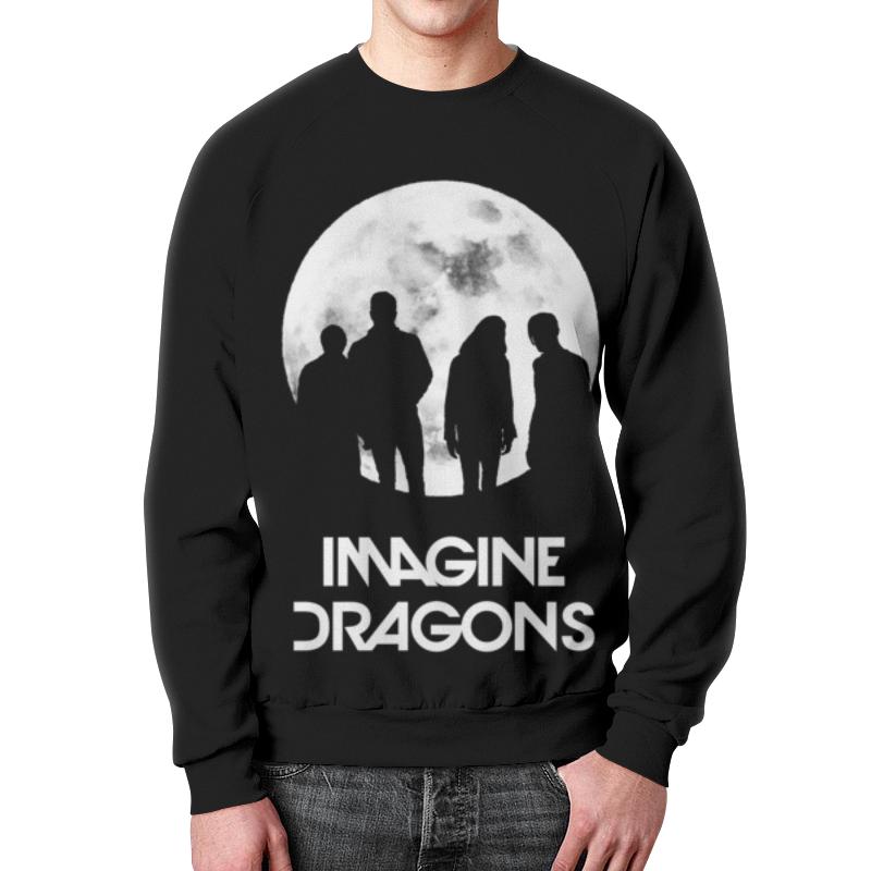 Свитшот унисекс с полной запечаткой Printio Imagine dragons dragons фигурка toothless сидящий