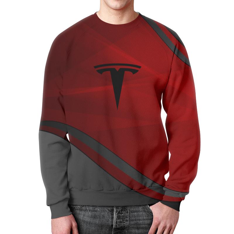 Фото - Свитшот мужской с полной запечаткой Printio Tesla свитшот унисекс с полной запечаткой printio алфавит