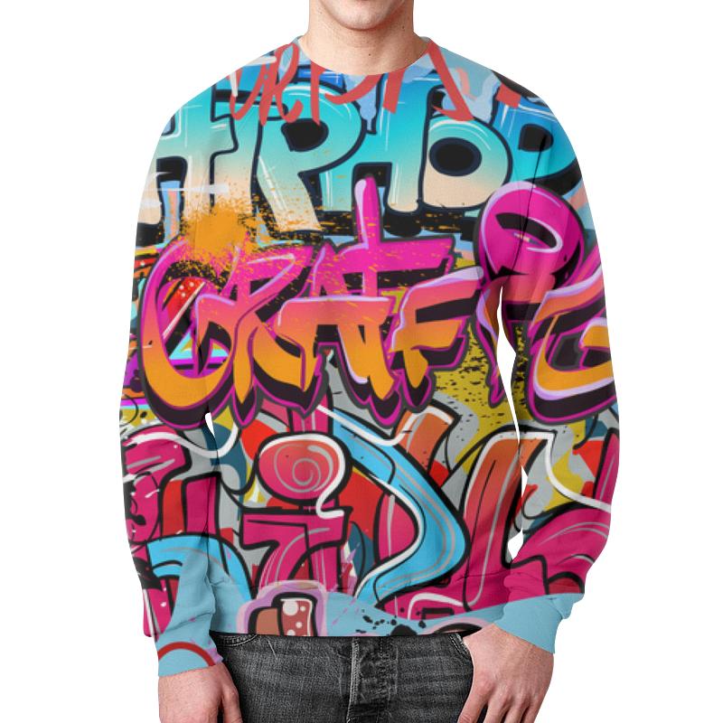 Printio Граффити свитшот мужской с полной запечаткой printio граффити 1