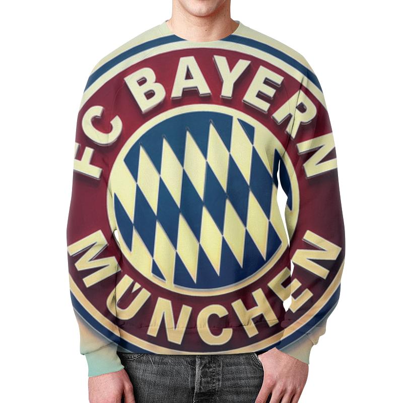 Свитшот унисекс с полной запечаткой Printio Бавария мюнхен klan münchen