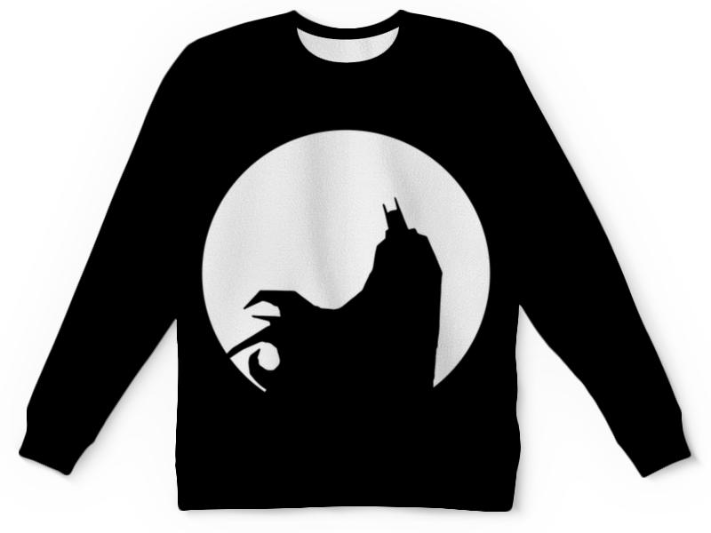 Свитшот унисекс  полной запечаткой Printio Бэтмен