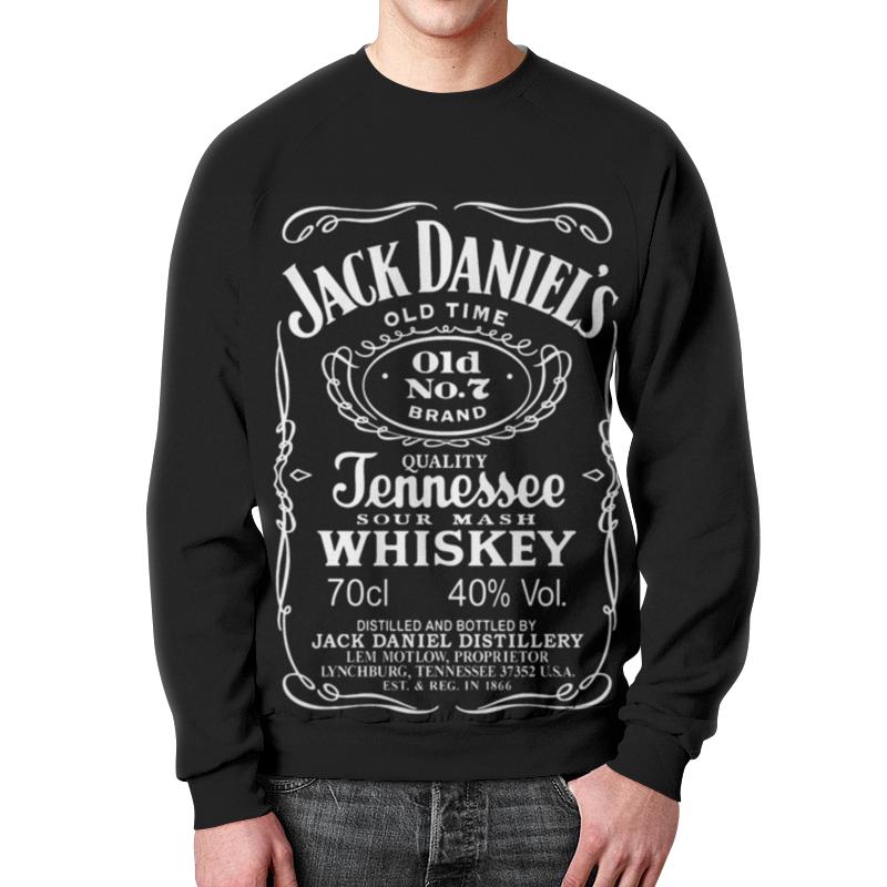 Свитшот мужской с полной запечаткой Printio Jack daniels свитшот jack