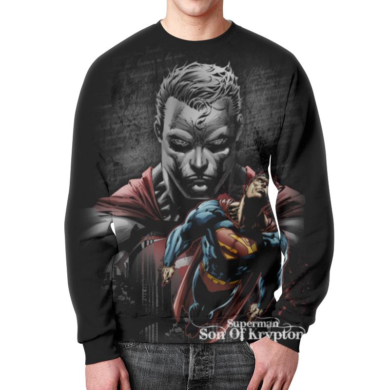 Свитшот унисекс с полной запечаткой Printio Супермен цены онлайн