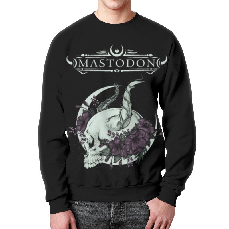 Свитшот унисекс с полной запечаткой Printio Mastodon mastodon mastodon live at the aragon 2 lp dvd