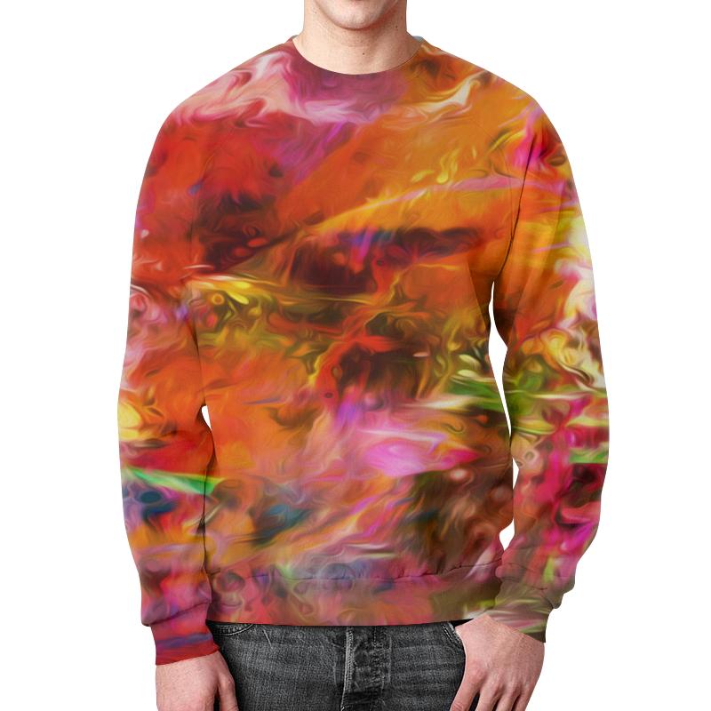 Свитшот унисекс с полной запечаткой Printio Разноцветные краски свитшот унисекс с полной запечаткой printio краски осени