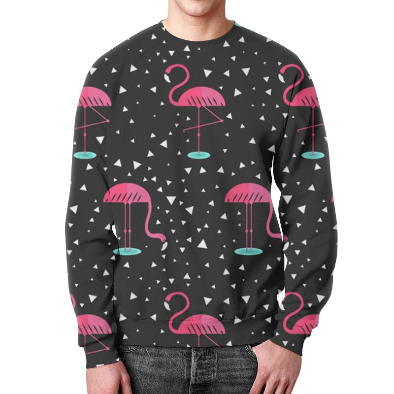 Свитшот мужской с полной запечаткой Printio Розовый фламинго свитшот мужской с полной запечаткой printio розовый полет