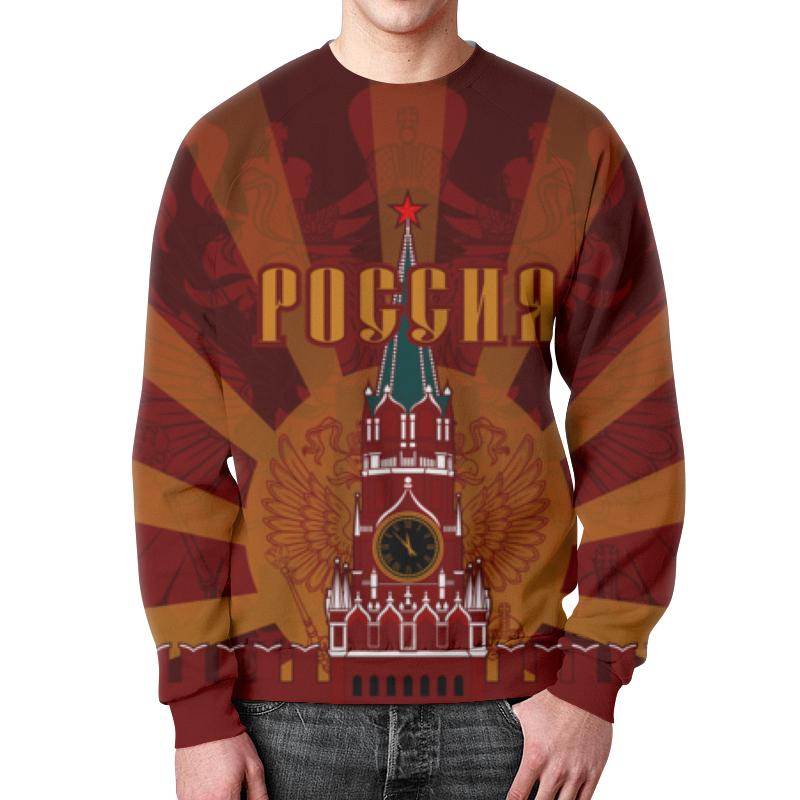 Свитшот унисекс с полной запечаткой Printio Кремль выставной в кремль 2222 ярославское шоссе