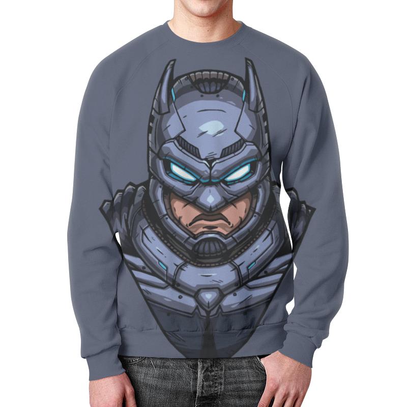 Свитшот унисекс с полной запечаткой Printio Armored batman /бэтмен в броне толстовка wearcraft premium унисекс printio armored batman бэтмен в броне