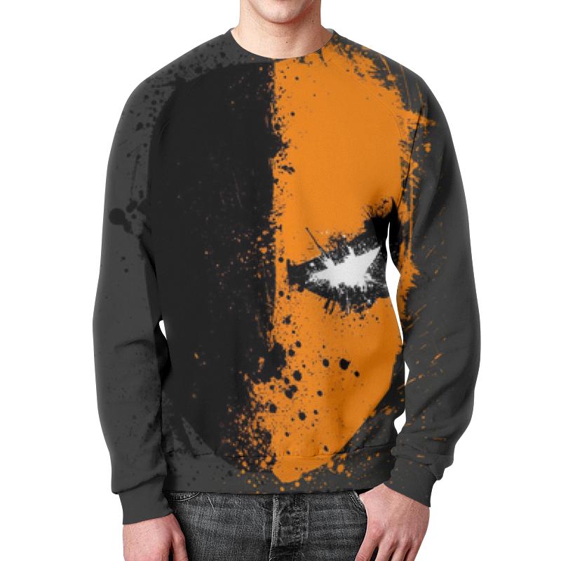 Свитшот мужской с полной запечаткой Printio Death stroke (дефстроук) футболка с полной запечаткой для девочек printio дефстроук ликвидатор