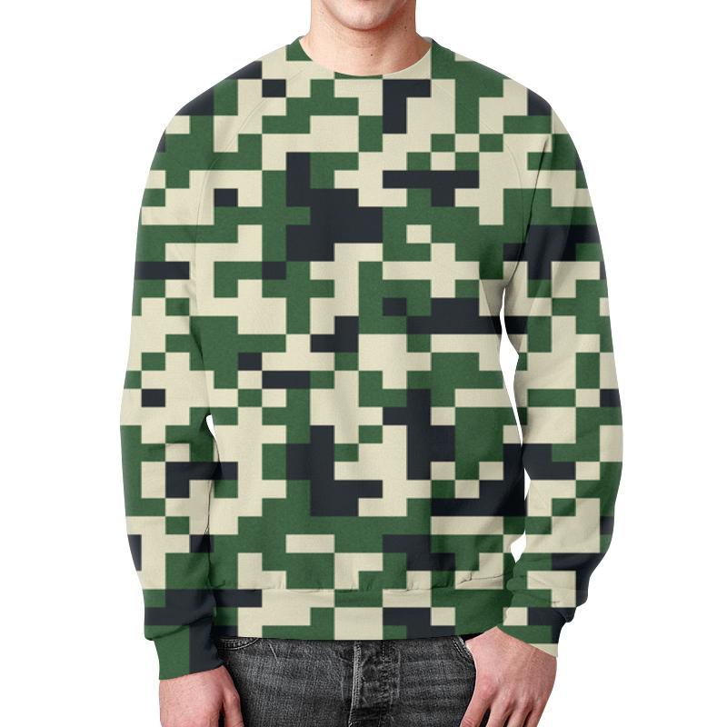 Фото - Printio Зеленые пиксели свитшот мужской с полной запечаткой printio зеленые линии