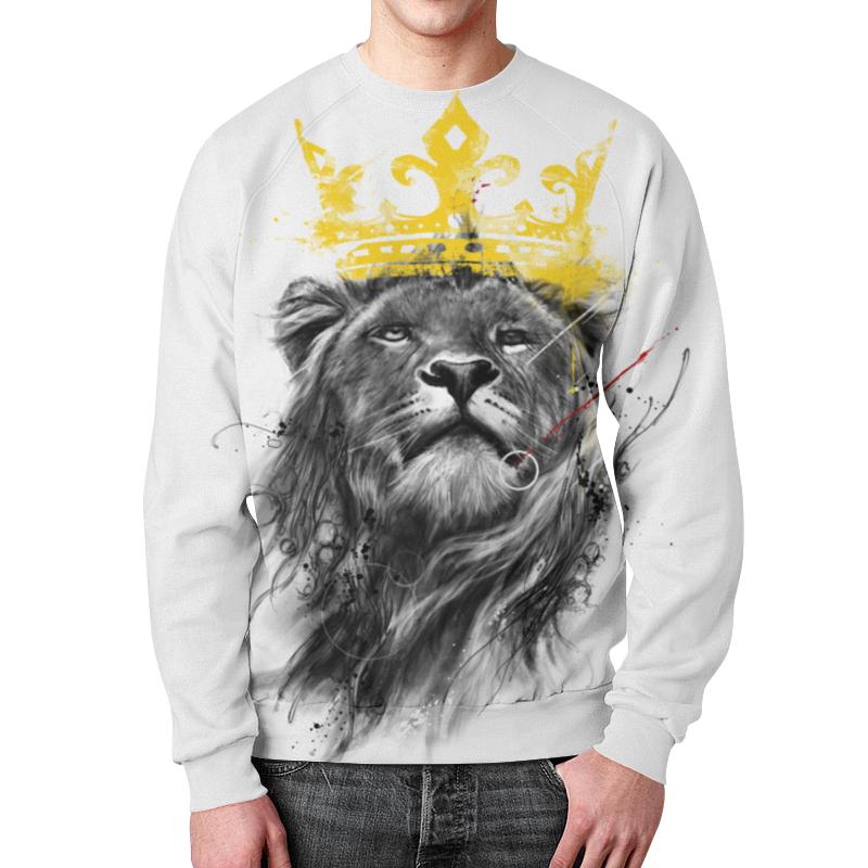 Printio Король лев свитшот print bar я король