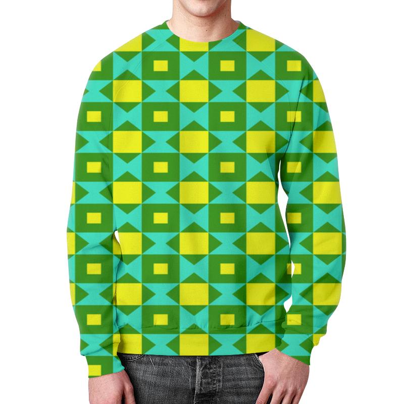 Свитшот мужской с полной запечаткой Printio Графический узор графический дизайн