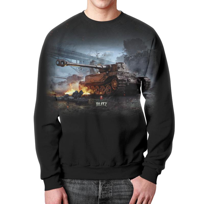 Свитшот мужской с полной запечаткой Printio World of tanks цена