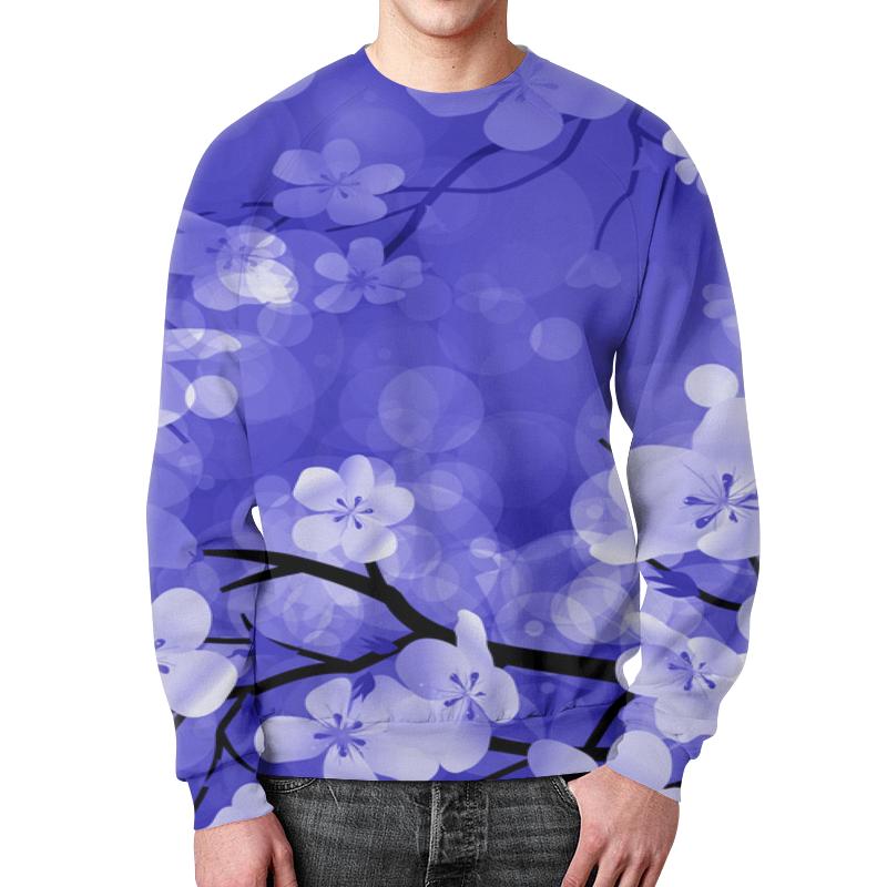 Свитшот мужской с полной запечаткой Printio Весенние цветки свитшот мужской с полной запечаткой printio цветки