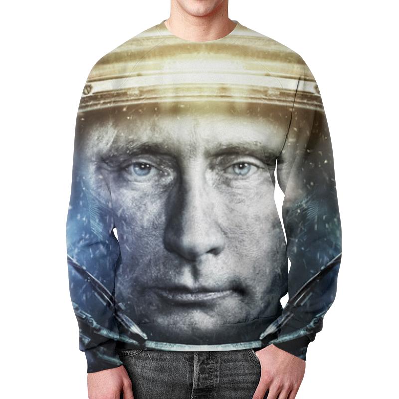 Свитшот унисекс с полной запечаткой Printio Владимир путин цена