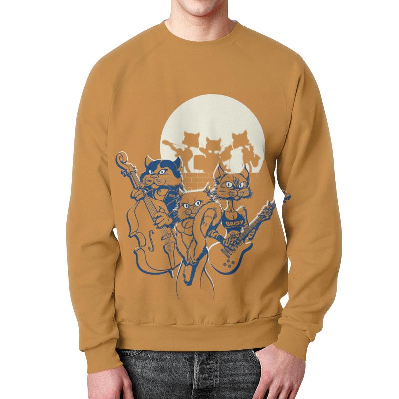 Фото - Свитшот мужской с полной запечаткой Printio Кошачий концерт футболка с полной запечаткой женская printio кошачий концерт