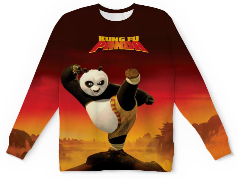Свитшот унисекс с полной запечаткой Printio Кунг-фу панда 3 сумка printio kung fu panda