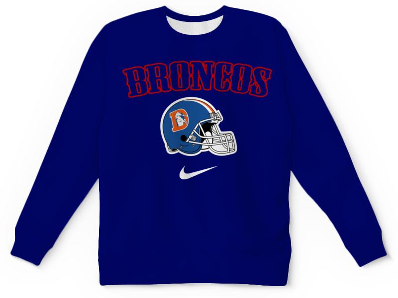 Свитшот унисекс с полной запечаткой Printio Broncos свитшот унисекс с полной запечаткой printio broncos 1