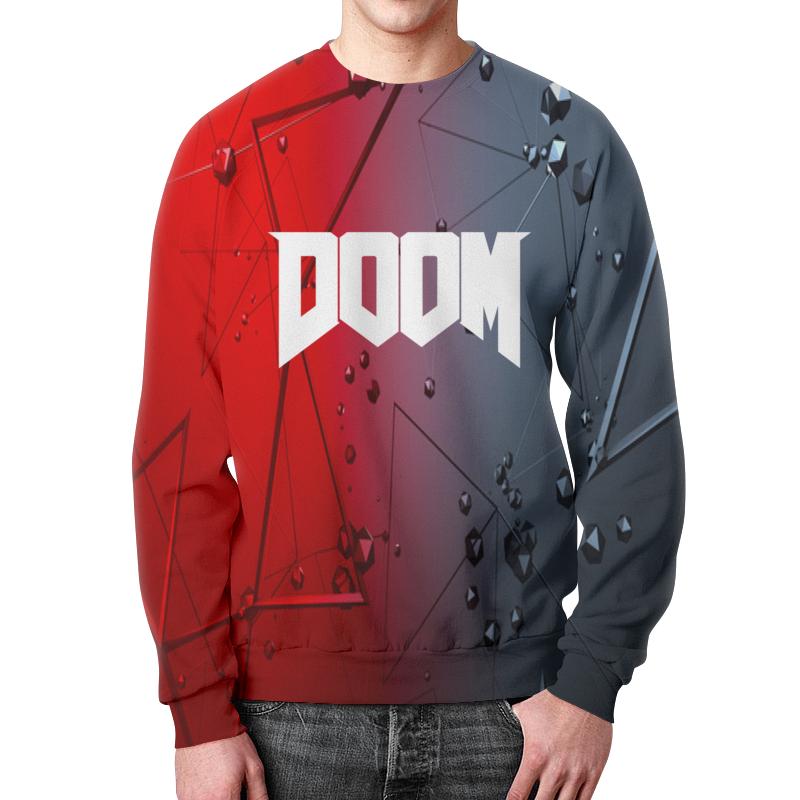Свитшот мужской с полной запечаткой Printio Doom игра doom игра для ps4