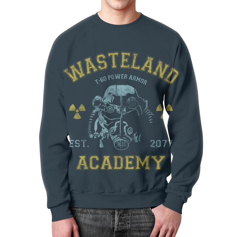 все цены на Свитшот унисекс с полной запечаткой Printio Fallout. wasteland academy