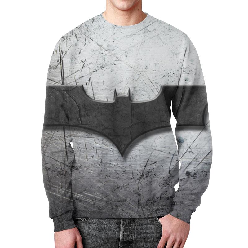 Свитшот мужской с полной запечаткой Printio Бэтмен свитшот унисекс с полной запечаткой printio бэтмен