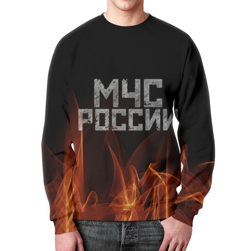 Свитшот унисекс с полной запечаткой Printio Мчс россии футболка с полной запечаткой мужская printio мчс россии