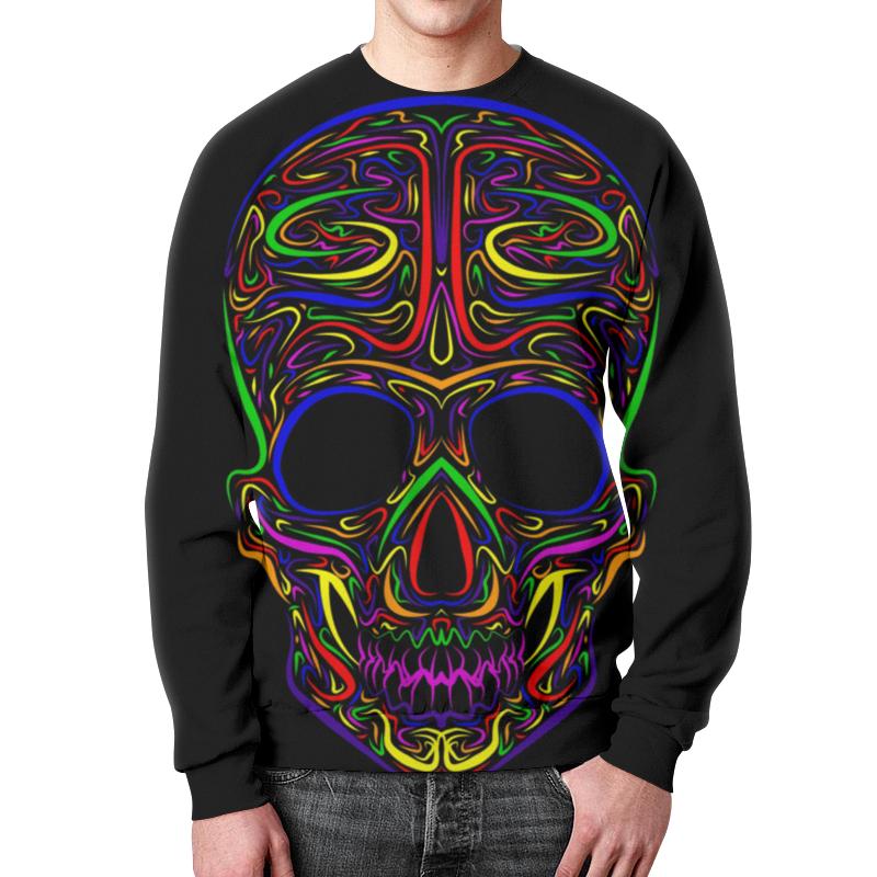 Свитшот унисекс с полной запечаткой Printio Skull art свитшот унисекс с полной запечаткой printio evil skull