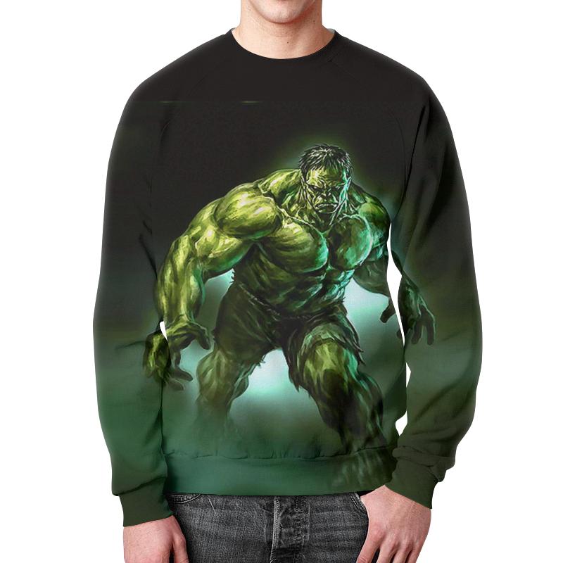 Фото - Свитшот мужской с полной запечаткой Printio Зеленый монстр детский свитшот унисекс printio зеленый монстр