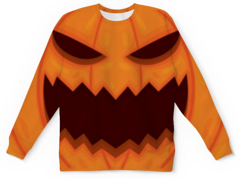 Свитшот унисекс  полной запечаткой Printio Зомби хеллоуина