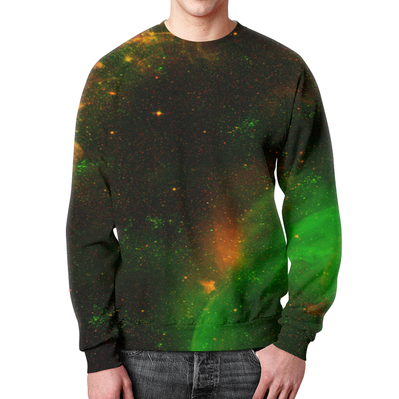 Свитшот мужской с полной запечаткой Printio Вселенная