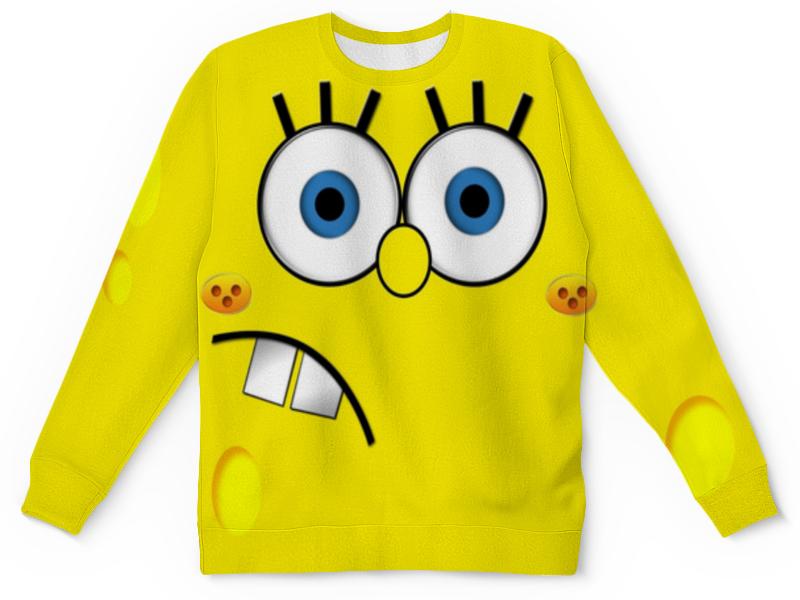 Свитшот унисекс с полной запечаткой Printio Спанч боб детская футболка классическая унисекс printio спанч боб