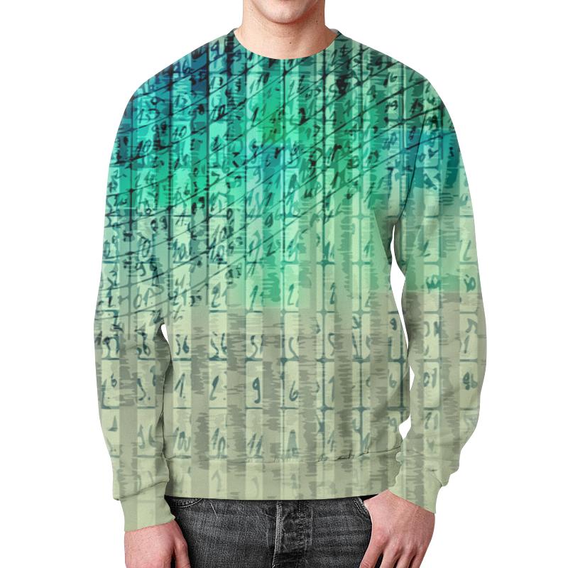 Свитшот мужской с полной запечаткой Printio Иероглифы футболка с полной запечаткой для девочек printio иероглифы