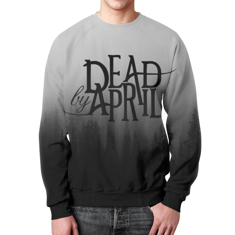 Свитшот унисекс с полной запечаткой Printio Dead by april свитшот print bar red dead redemption simsons style