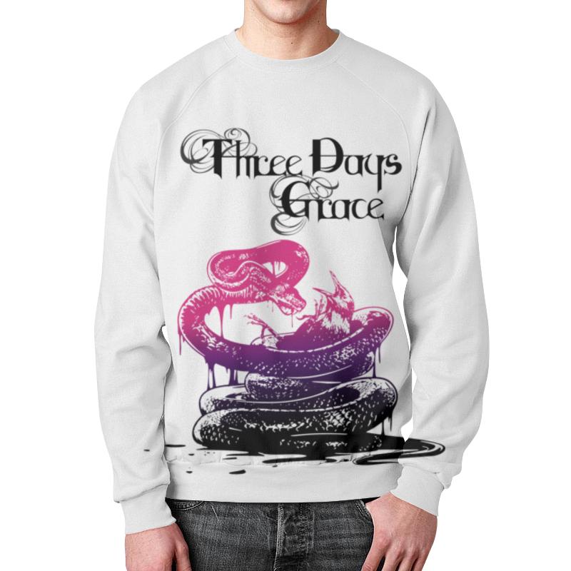 Свитшот мужской с полной запечаткой Printio Three days grace свитшот print bar three days grace