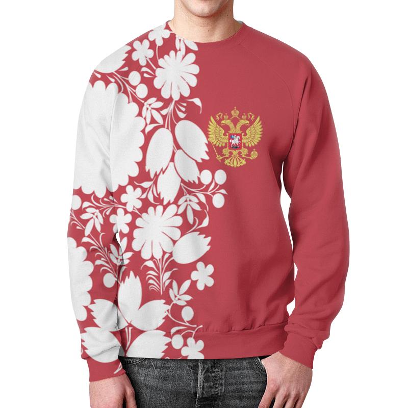 Свитшот унисекс с полной запечаткой Printio Россия свитшот унисекс с полной запечаткой printio россия и китай