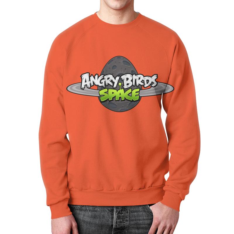 Свитшот мужской с полной запечаткой Printio Angry birds свитшот print bar flower birds