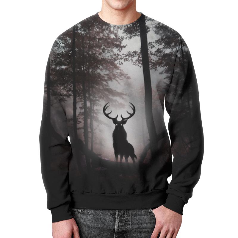 Свитшот мужской с полной запечаткой Printio Лесной зверь свитшот унисекс с полной запечаткой printio зверь
