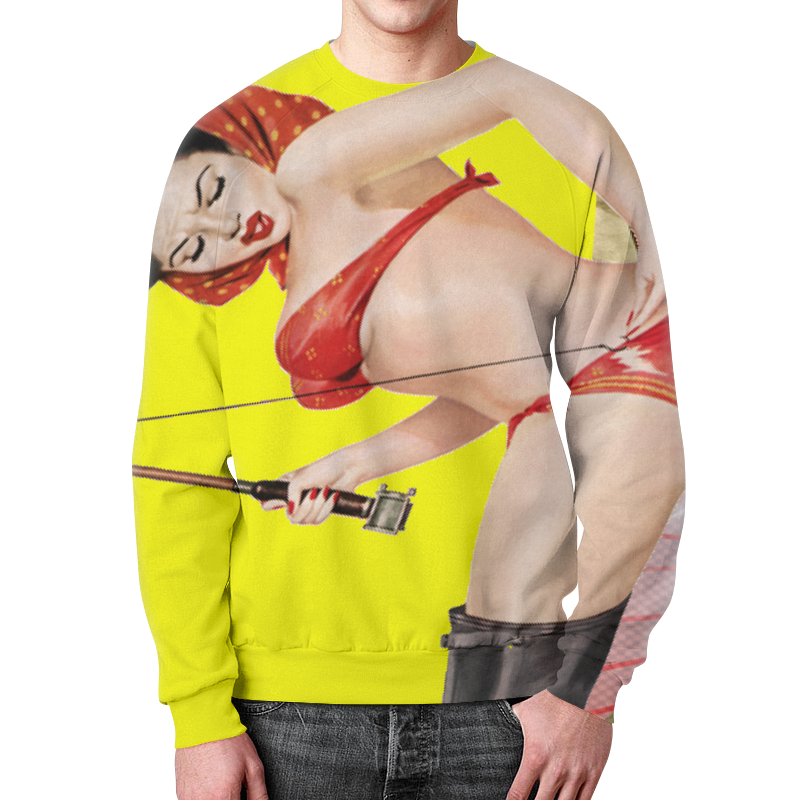 Свитшот мужской с полной запечаткой Printio Родина футболка родина поэтов