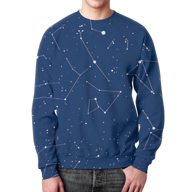 Свитшот унисекс с полной запечаткой Printio Вселенная свитшот унисекс с полной запечаткой printio планеты космос вселенная