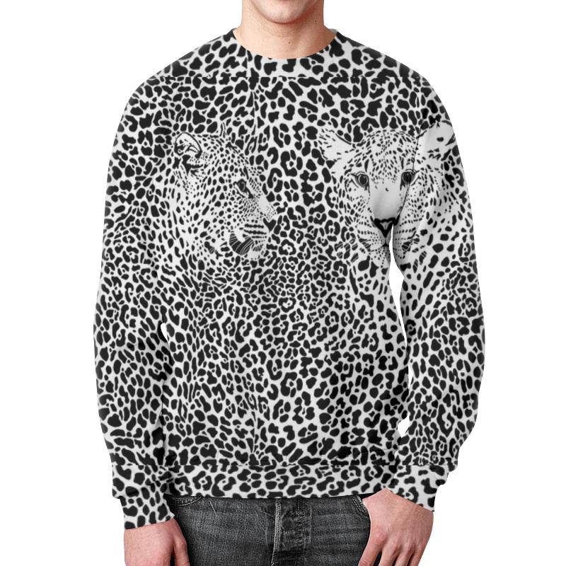 Свитшот мужской с полной запечаткой Printio Леопарды (1) свитшот унисекс с полной запечаткой printio леопарды
